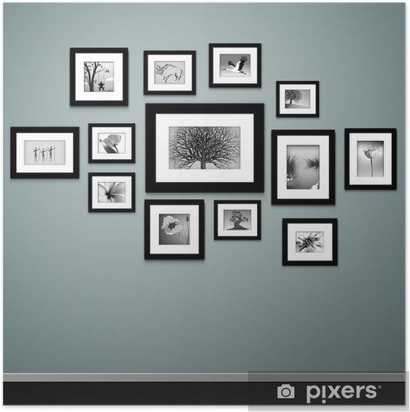 Plakat Obraz Wektora Ramki Archiwalne Ramki Na ścianie