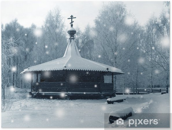 Plakat Obraz Winter - Pory roku