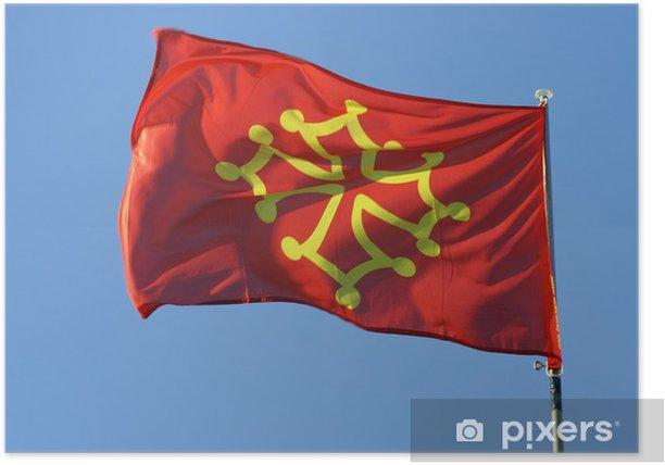 Plakat Occitan - Znaki i symbole