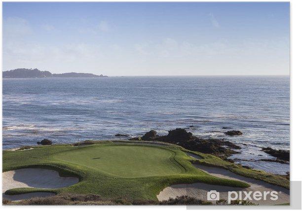 Plakat Oczywiście żwir golf, Monterey, Kalifornia, USA - Tematy