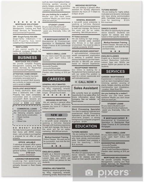 Plakat Ogłoszenia - Czytanie