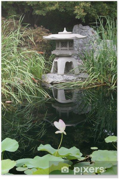 Plakat Ogród japoński - Zabytki
