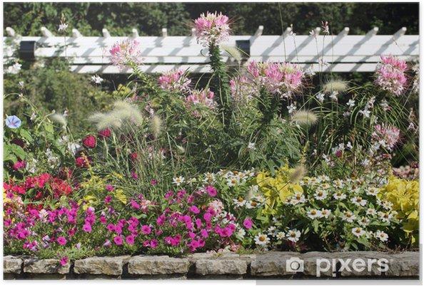 Plakat Ogrod Kwiaty Pixers Zyjemy By Zmieniac