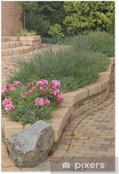 Plakat Ogród - Dom i ogród
