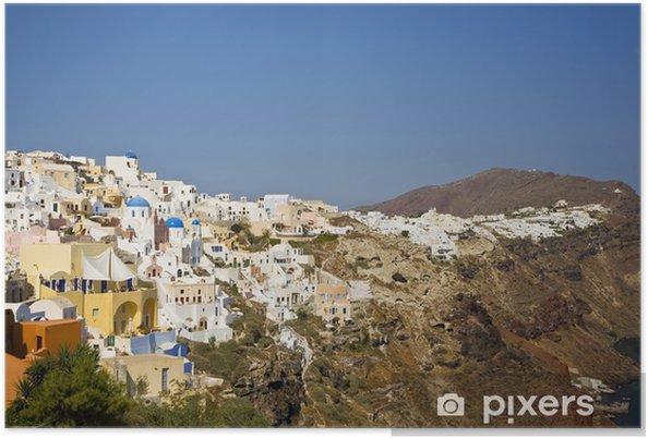 Plakat Oia, Santorini, Krajobraz, Grecja - Europa