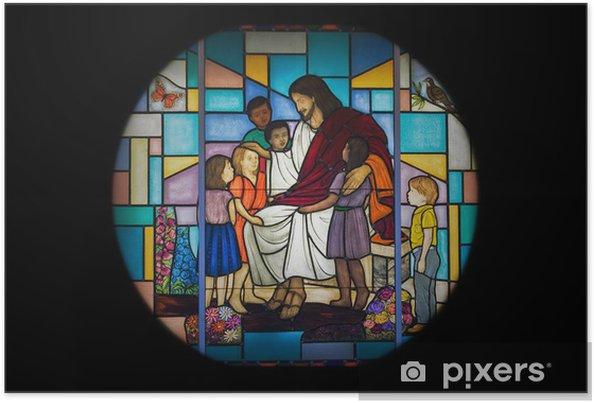 Plakat Okno kościoła - Sztuka i twórczość