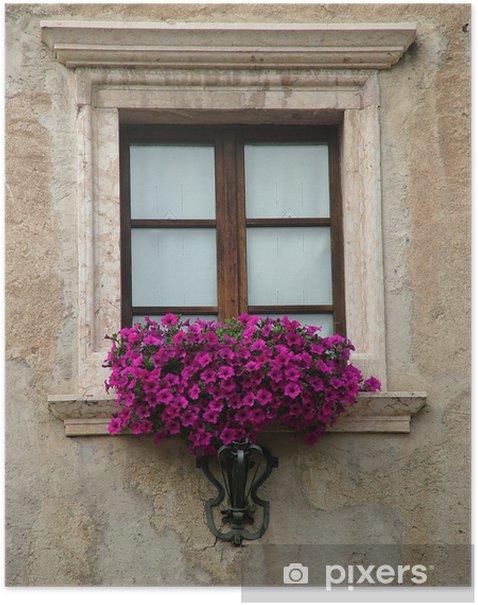 Plakat Okno - Zabytki