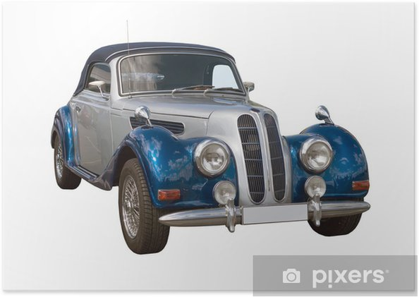 Plakát Oldtimer, Classic Car, Cabriolet - Témata