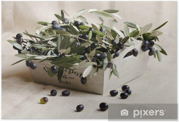 Plakat Olive obiekt - Oliwki
