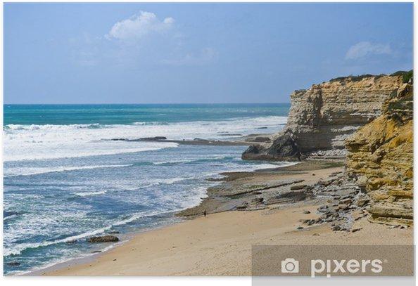 Plakat Opuszczone plaże - Woda