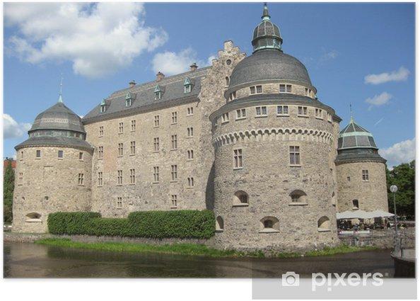 Plakat Orebro Schloss - Europa
