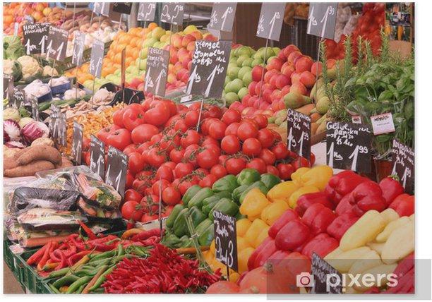 Plakat Organic Market w Wiedniu - Tematy