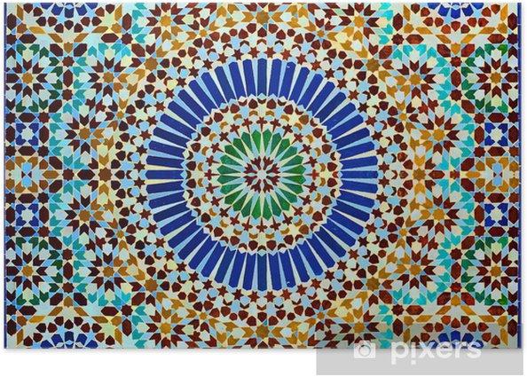 Plakat Oriental dekoracja - Maroko