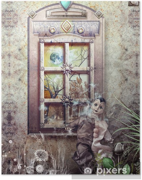 Plakát Osamělost - Smutek