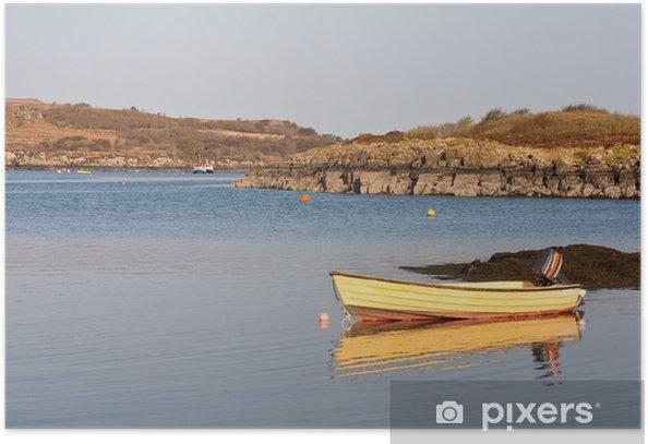 Plakat Oskamull łodzi - Woda