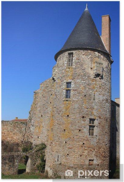 Plakat Ostróg du chateau - Zabytki