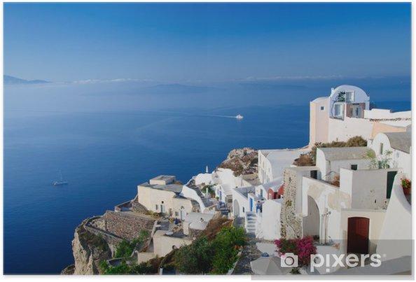 Plakát Ostrov Santorini, Řecko - Venkov