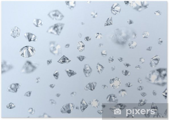 Plakát Padající diamanty - Osud