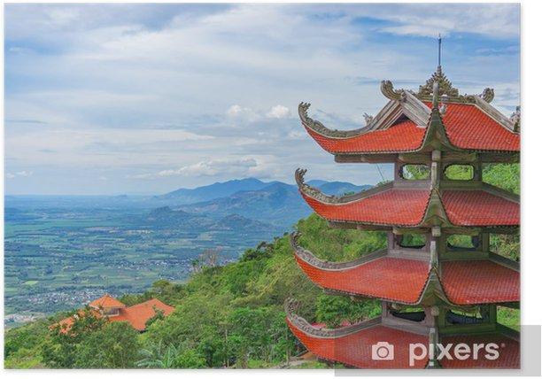 Plakat Pagoda - Style