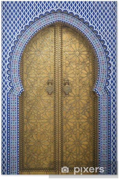 Plakat Pałac królewski w Fez, Maroko - Tematy