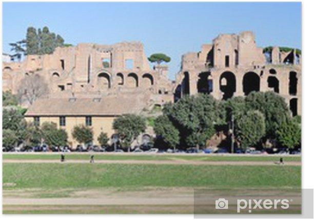 Plakat Palatynu, Rzym - Tematy
