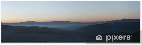 Plakat Pan Montagnes - Góry