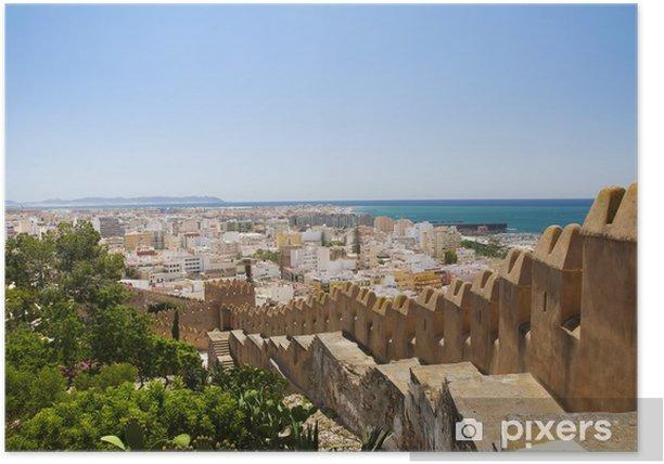 Plakát Panorama Almería od Alcazaba - Prázdniny