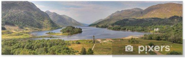 Plakat Panorama Glenfinnan Monument i Loch Shiel, Szkocji - Tematy