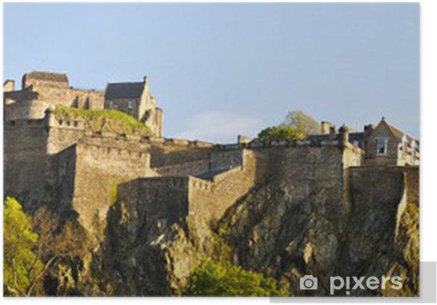 Plakát Panorama of Edinburgh hrad, Skotsko - Témata