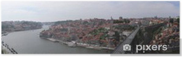 Plakát Panorama Porto z kláštera - Evropa