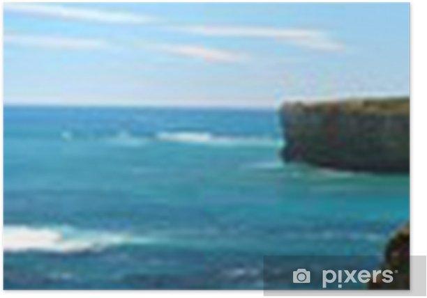 Plakat Panorama wybrzeża Australii - Oceania