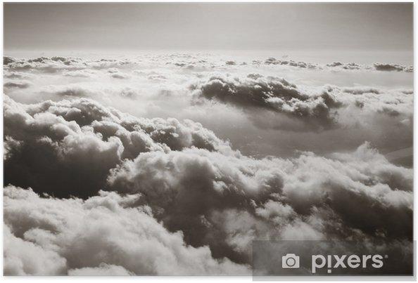 Plakat Panorama z chmurami - Style