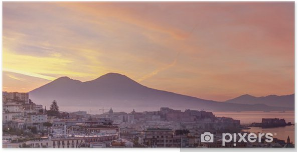 Plakat Panorama z Neapolu - Europa