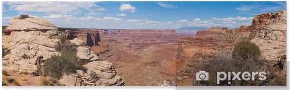 Plakát Panoramatický výhled na Národní park Canyonlands v Utahu - Amerika