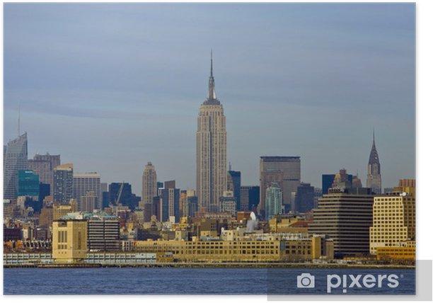 Plakat Panoramę Nowego Jorku - Koncepcje biznesowe