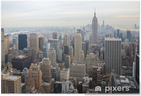 Plakat Panoramę Nowego Jorku - Tematy