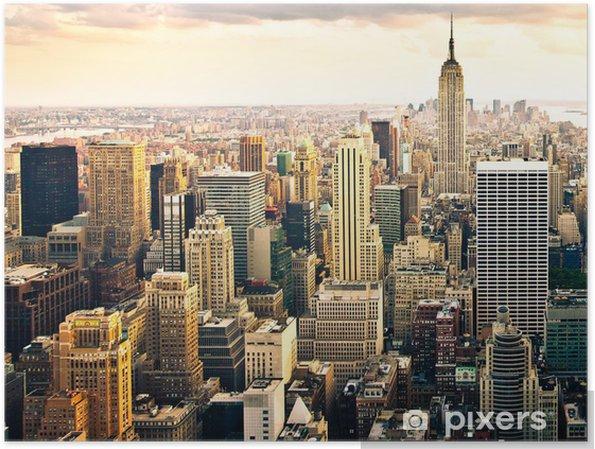 Plakat Panoramę Nowego Jorku - Style