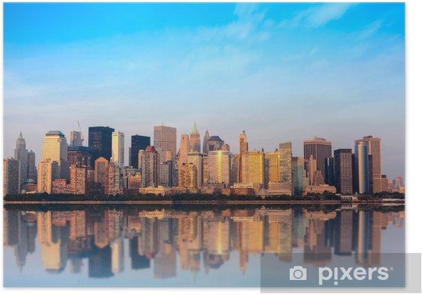 Plakat Panoramę Nowego Jorku - Nowy Jork