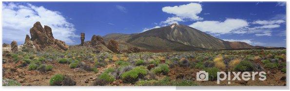 Plakat Panoramiczny obraz wulkanu Teide na Teneryfie - Tematy