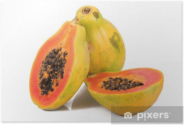 Plakát Papája - Ovoce