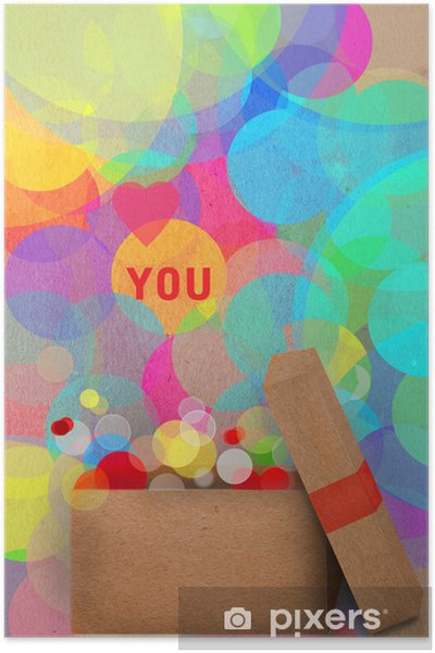 Plakat Papier aplikacja kartkę z życzeniami - Tła