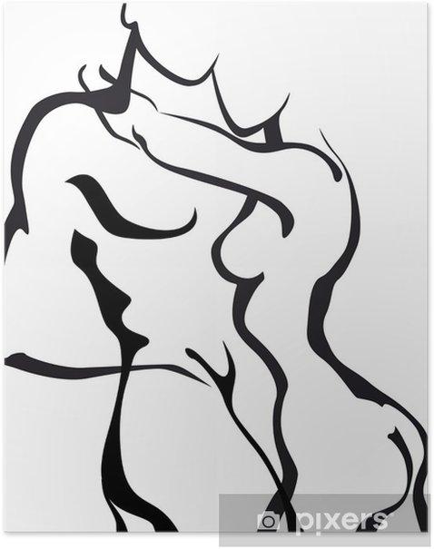 Plakat Para zakochanych - Pary