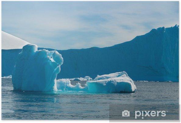 Plakat Paradise Bay Antarktyda - Woda