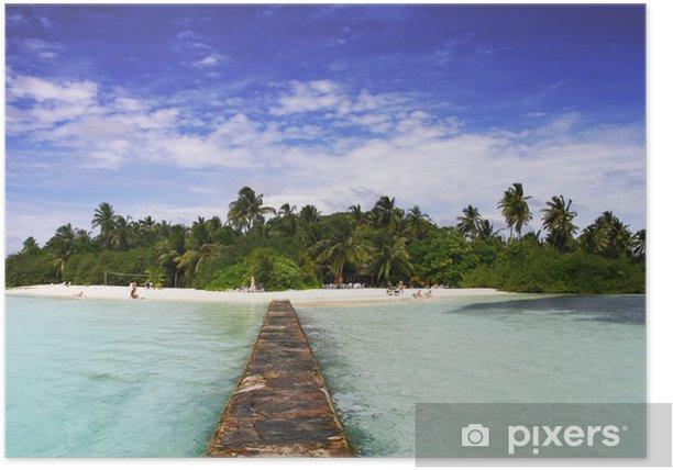 Plakat Paradise Island - Oceania