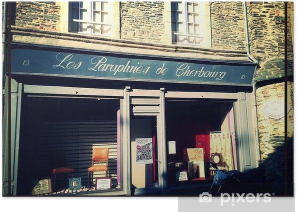 Plakat Parapluies de cherbourg - Budynki i architektura