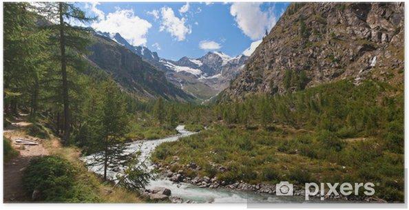 Plakát Parc National du Grand Paradis - Italie - Hory