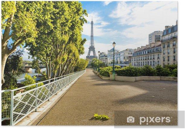 Plakát Paris - Evropská města