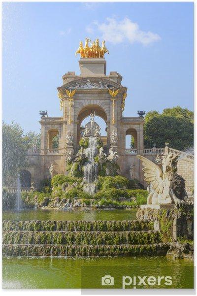 Plakat Park Cytadela w Barcelonie - Tematy