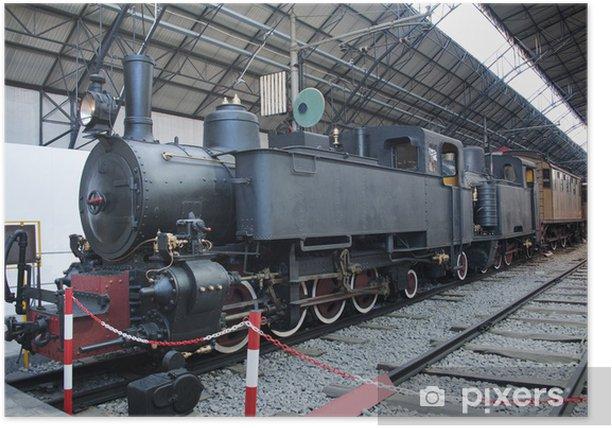 Plakat Parowóz pociągu - Tematy
