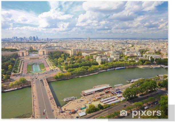 Plakat Paryż, Francja - Miasta europejskie